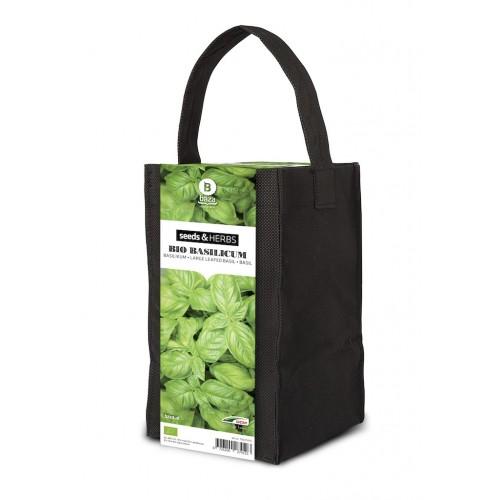 Plante&Cultive Ervas Aromáticas - Manjericão Bio