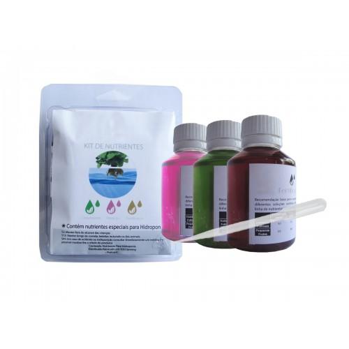 Kit Nutrientes p/ Hidroponia